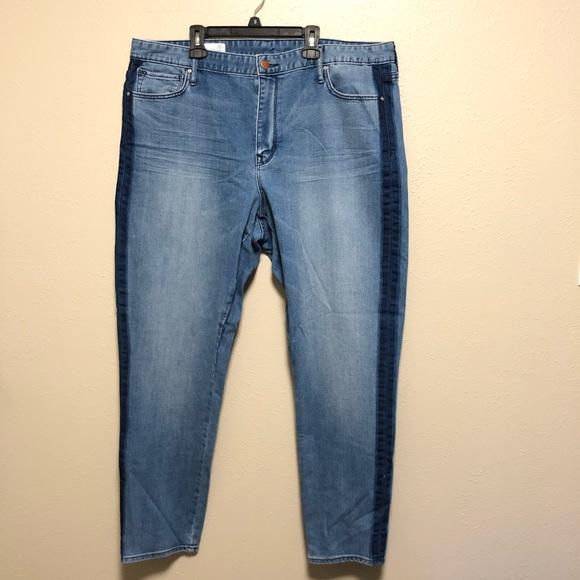 GAP Denim - Gap medium wash high rise skinny jeans (47)